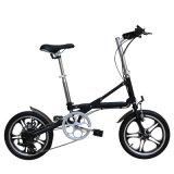 Bike миниой складчатости 16 дюймов электрический с батареей Samsung в рамке
