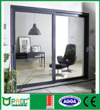 Горячая раздвижная дверь Tempered стекла двойника сбывания алюминиевая с As2047