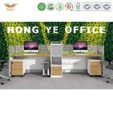 O escritório moderno de 2017 compartimentos da solução do espaço de escritórios H15 tabela a estação de trabalho