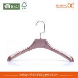 Plastic Hangers van de Kleur van het Gebruik van het Kledingstuk van de Luxe van Eisho de Gouden