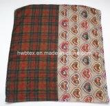 Écharpe spéciale commune de Tublar de polyester d'impression de Check&Heart personnalisée par 2017 (HWBPS30)