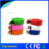 Vara 2016 macia por atacado do USB do bracelete do Wristband do PVC da borracha de China (JV1317)