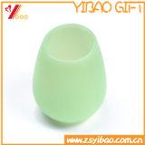 食品等級の熱い販売のFoldableシリコーンかゴムワインのコップ(XY-SC-002)