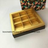Rectángulo de regalo de papel para el conjunto del papel del Embalaje-Alimento del papel del chocolate