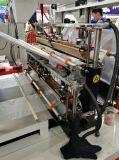 Линия мешок High Speed 4 тенниски холодного вырезывания делая машину с пробивая блоком (SSC-1000F)