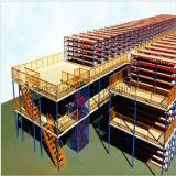 Reja de acero soldada galvanizada para la cubierta del estante de las mercancías