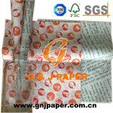 Buena calidad Sandwich papel impreso para envasado de alimentos
