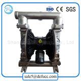 Bomba de proceso químico del diafragma doble del aire neumático del acero inoxidable