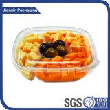 Recipiente de alimento plástico descartável dos PP