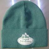 Chapéu feito sob encomenda acrílico do Beanie do Knit POM POM do inverno