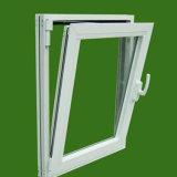 AluminiumBuntglas-Markisen-Fenster-Standardbadezimmer-Fenster-Größe
