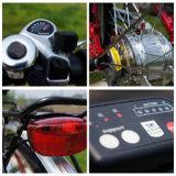 Vélo électrique de ville de batterie au lithium du Roi Peacock