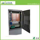 A fibra óptica da caixa de transferência de cabo ótico de 288 núcleos coneta o gabinete