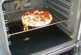 Estera a prueba de calor de la hornada del Teflon