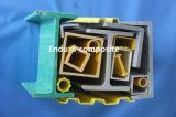 Tubo de la fibra de vidrio de los perfiles de GRP/reja de la extrusión por estirado Tube/FRP Prpfiles/FRP