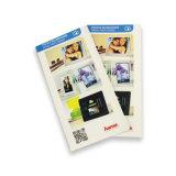 Impression de brochure de Customzied de papier excentré de qualité