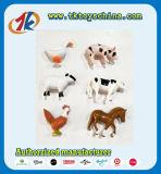 Giocattoli svegli degli animali del cortile dei giochi degli animali da allevamento