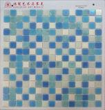 Cor de vidro do azul do mosaico do irídio