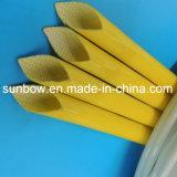 Silikon-Gummi-überzogenes Fiberglas, das für elektrisches Isolierungs-Gerät Sleeving ist