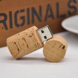 Corcho de madera USB2.0 3.0 del USB de Eco del mecanismo impulsor ambiental del flash
