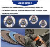 Disco della falda di Zirconia di T27 100mm Cina per acciaio inossidabile