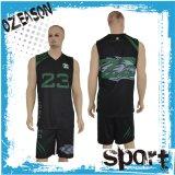 OEM Eenvormige Kleding van de Sportkleding van het Basketbal van de Douane van de Vrouwen van de Dienst de Goedkope In het groot