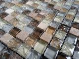 Materiales de construcción pared y mosaico del vidrio del suelo