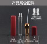 Botella de cristal cuadrada de la alta calidad 12ml para la mujer