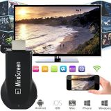 Mirascreen Dongle 1080P Reproductor multimedia Dlan Air Play para Tablet Smartphone