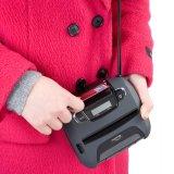 이동할 수 있는 휴대용 열 인쇄 기계 112mm 폭 Bluetooth를 레테르를 붙이십시오