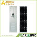 luz de calle solar de la instalación simple ligera ahorro de energía del brillo 100W