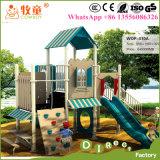 Aventura ao ar livre das crianças que escala o campo de jogos ao ar livre para o jardim de infância (WOP-006B)