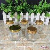 50ml 60ml 2oz Kruik van de Honing van het Glas van Hexgonal de Lege met Deksel