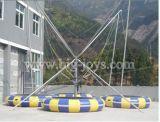 Trampolim de salto ao ar livre ao ar livre para venda, trampolim inflável