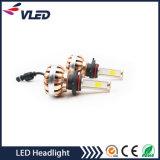 Farol 6000k do diodo emissor de luz do farol 36W 3600lm H4 do carro do preço de grosso C8 para o automóvel