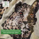 2017 le più nuove fabbrica dello scialle della signora Viscose Scarf Leopard Painted di modo