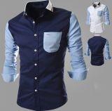 남자 싼 형식 남자를 위한 최신 셔츠 패턴