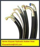 Hydraulischer Gummischlauch-flexible Öl-Schlauchleitung