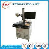 Type machine de Tableau de gravure incorporée de laser de fibre en métal 20W de refroidissement à l'air