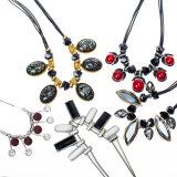 Ювелирные изделия ожерелья чокеровщика цветка диаманта способа кристаллический
