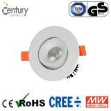 4-Inch LED ahuecado 25W abajo se encienden con talla del orificio de 110m m