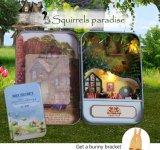 Handcrafted con ideas miniatura del regalo del Dollhouse de la luz y de los muebles
