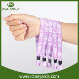 Bracelet de type de mode de textile tissé par événement utilisateur
