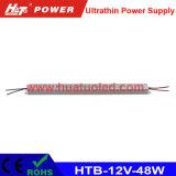 excitador interno Ultrathin da fonte de alimentação AC/DC do diodo emissor de luz da caixa 12V-60W leve