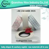 Papier estampé de desserrage pour l'aile de serviette hygiénique et le papier arrière de desserrage de silicones