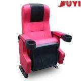 Extremidad comercial de los muebles de la cubierta del cuero del precio razonable de Juyi Company encima de la silla de plegamiento completada plástica del sostenedor de taza del brazo