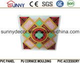 comitato di timbratura caldo del PVC di 595*595*7mm per le mattonelle del soffitto e della parete
