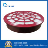 Красный фильтр циркуляра HEPA для пылесосов