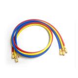 Yute R134A flexible 5.5mm Farben-glatter kühlaufladenschlauch