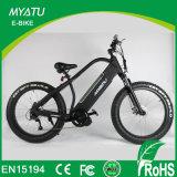 bicicleta gorda da montanha 48V/15ah elétrica com o motor de movimentação aluído